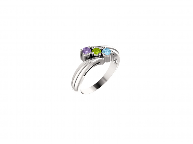 sterling silver mothers ring