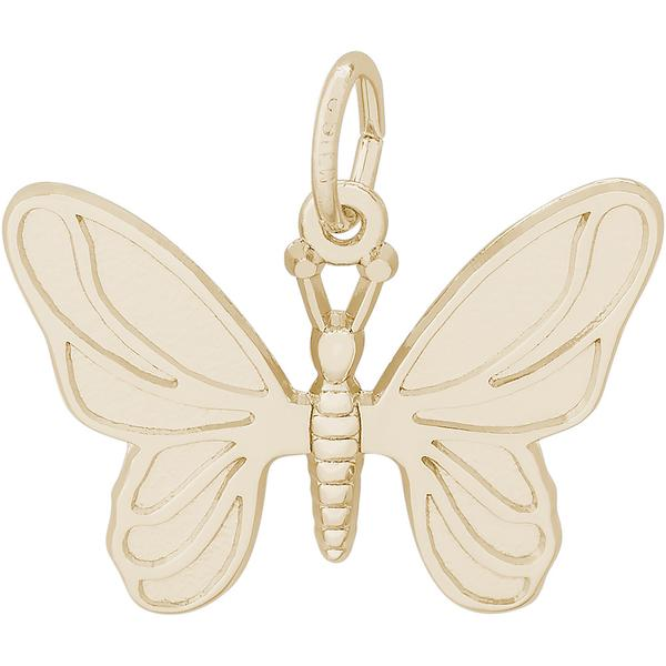 Charms - Butterfly Charm or Pendant in Gold or Silver