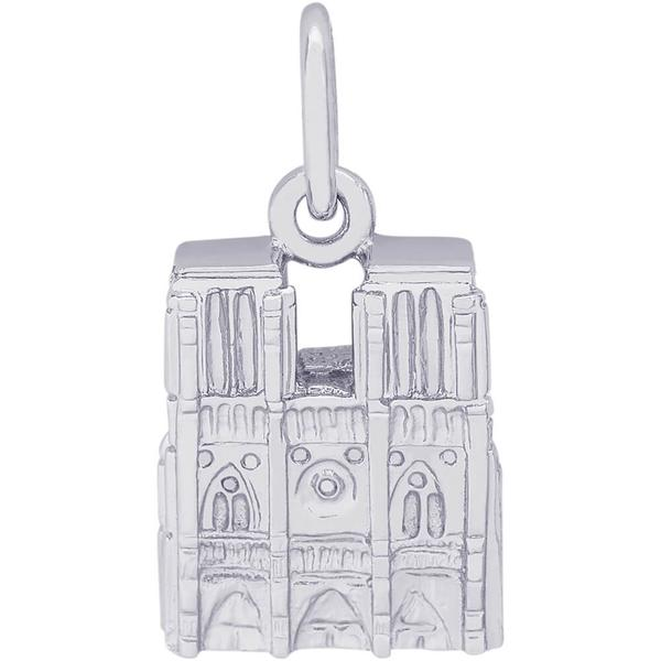 Charms - Notre Dame Charm or Pendant in Gold or Silver