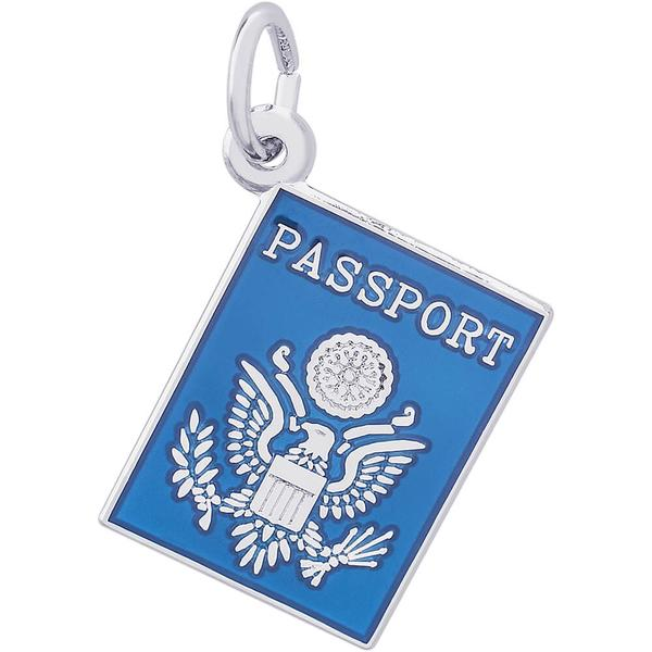 Charms - United States US Passport Charm or Pendant