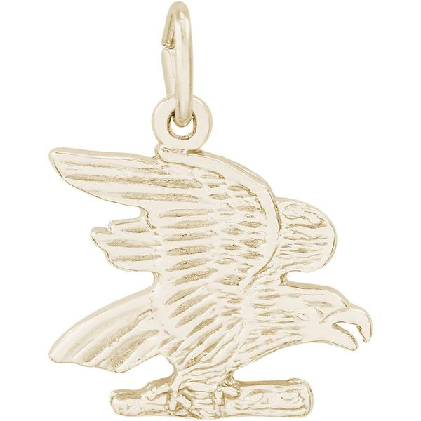 Charms - Eagle Charm in Silver or Gold