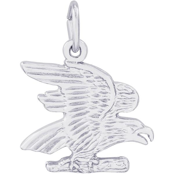 Charms - Eagle Charm in Silver or Gold - image #2