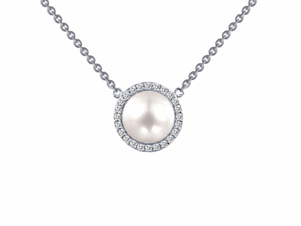 Sterling Necklaces - Sterling Silver Fresh Water Pearl Necklace