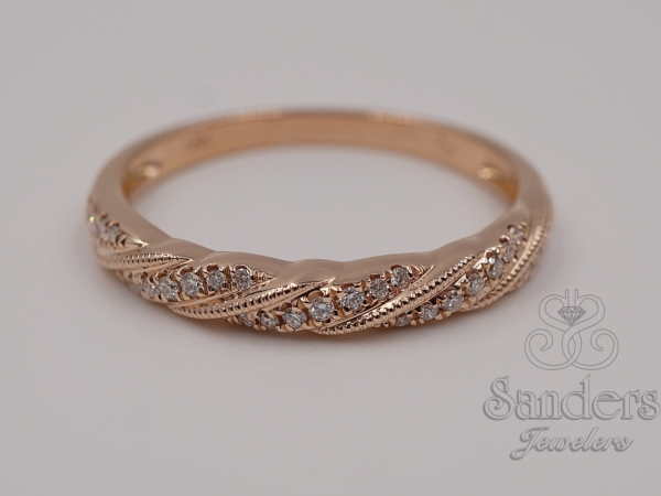 Rings - Diamond Stacker Band