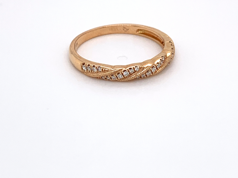 Rings - Diamond Stacker Band - image #2