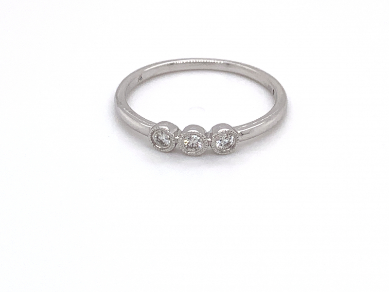 Rings - Diamond Stacker Ring