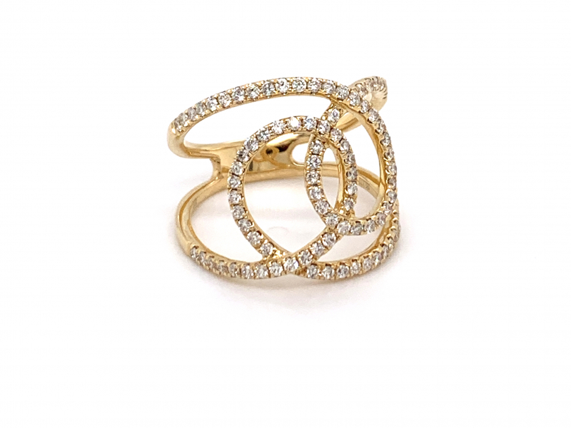 Rings - Diamond Fashion Ring - image 2