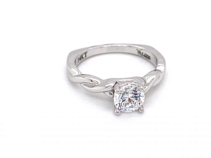 Bridal Jewelry - Twisting Engagement Ring - image #2