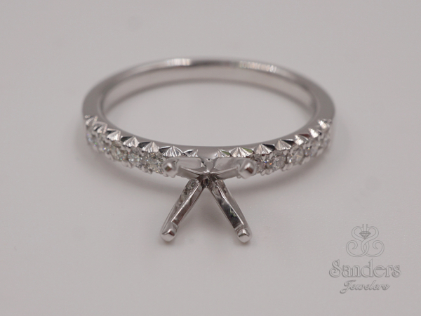 Bridal Jewelry - Diamond Engagement Ring