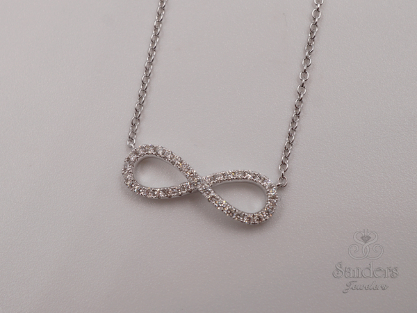 Pendants & Necklaces - Diamond Infinity Pendant