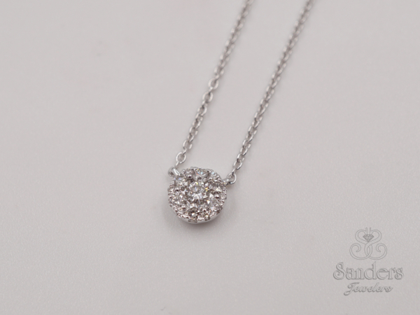 Pendants & Necklaces - Diamond Cluster Pendant