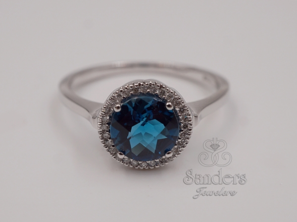 Rings - London Blue Topaz Ring