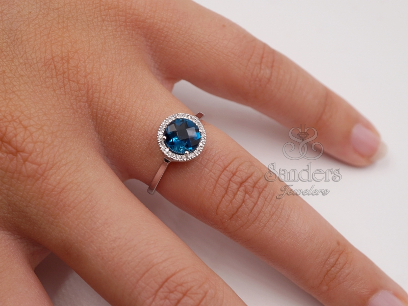 Rings - London Blue Topaz Ring - image #3