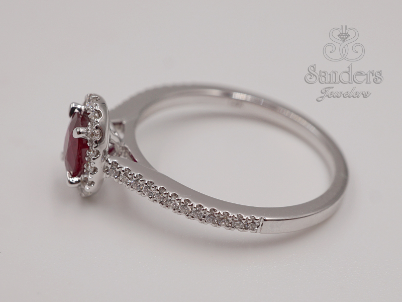 Rings - Ruby and Diamond RIng - image 2