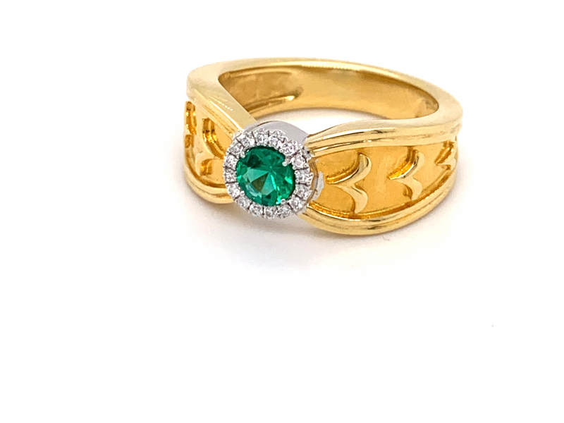 Rings - Emerald Ring