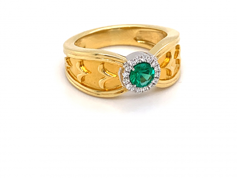 Rings - Emerald Ring - image #2