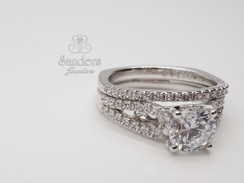 Bridal Jewelry - Slightly Curved Wedding Band - image 3