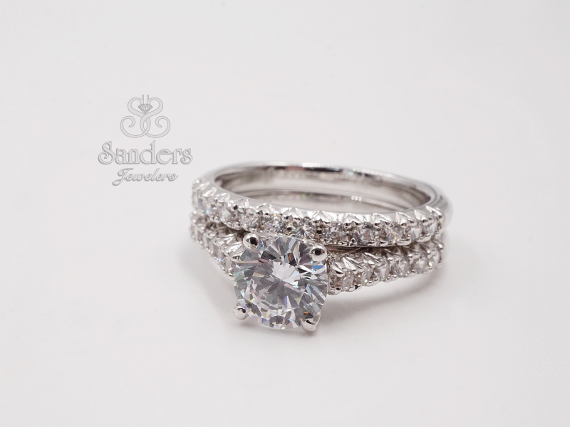 Bridal Jewelry - Classic Diamond Engagement Ring - image #2