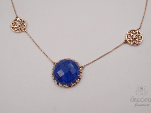Pendants & Necklaces - Fashion Lapis Pendant
