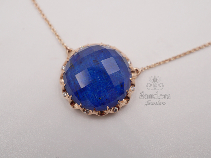 Pendants & Necklaces - Fashion Lapis Pendant - image #2
