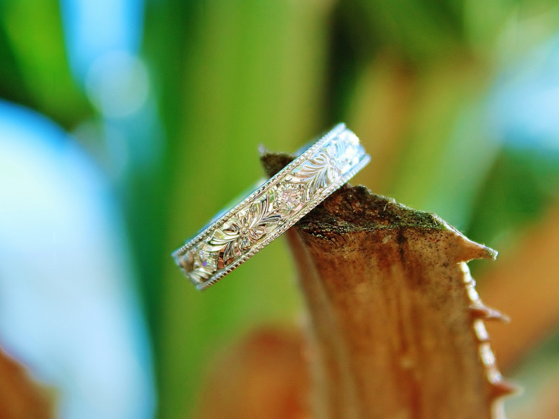 Sanders Jewelers Custom Designs - Custom Matching Wedding Bands - image #4