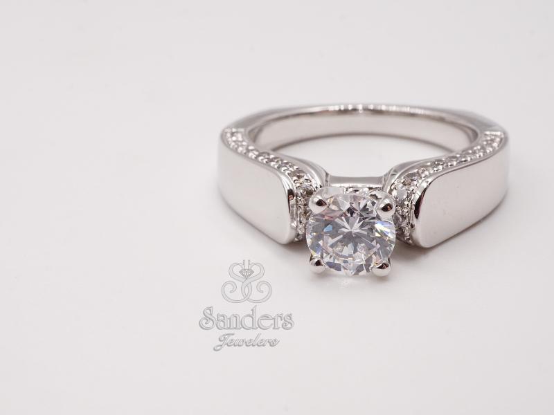 Bridal Jewelry - Solitaire Featuring Diamond Profile