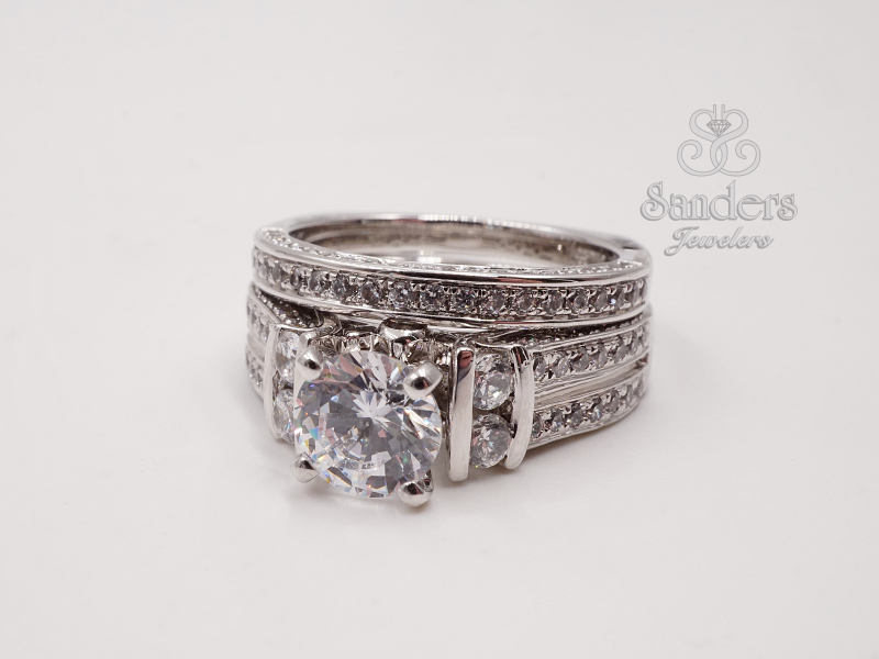 Bridal Jewelry - Fancy Engagement Ring - image #2