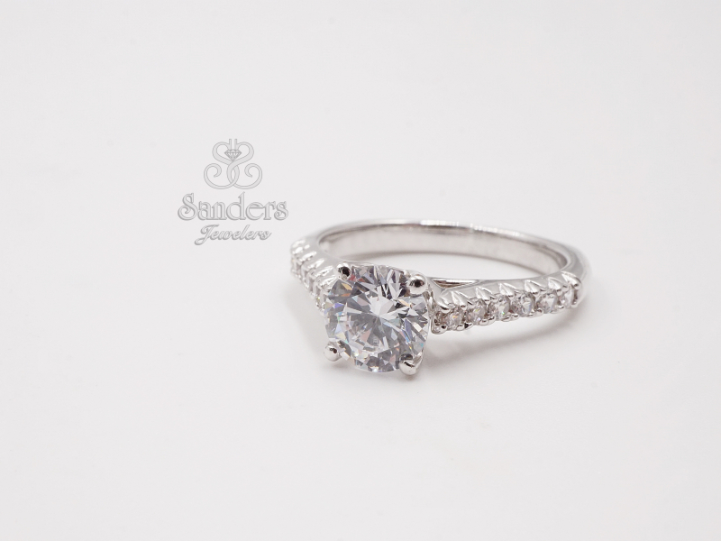 Bridal Jewelry - Classic Diamond Engagement Ring