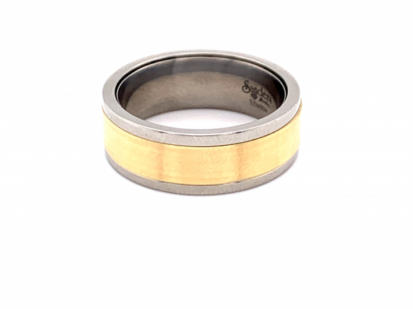 Men's - Yellow Gold Ring Insert