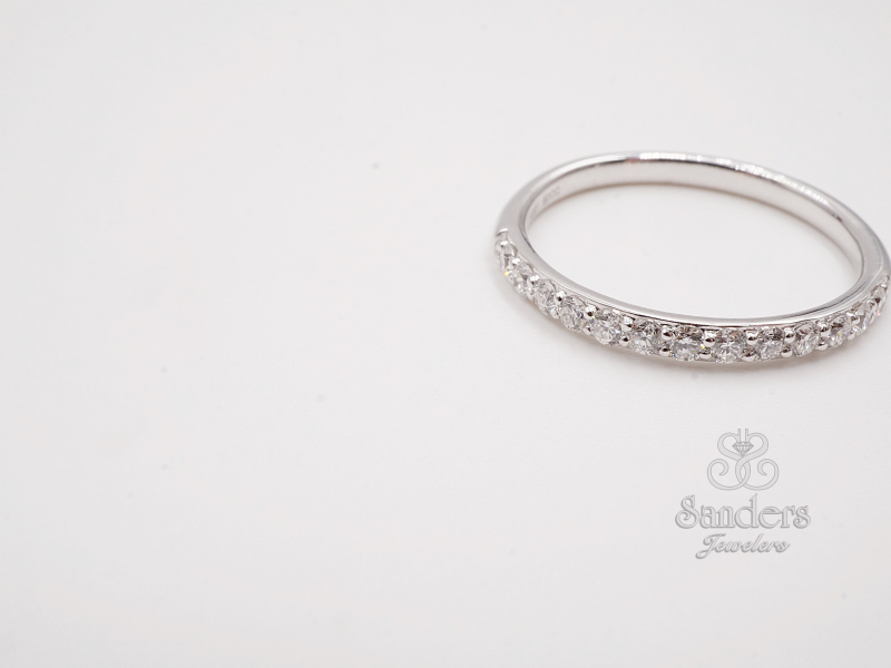 Bridal Jewelry - Diamond Wedding Band