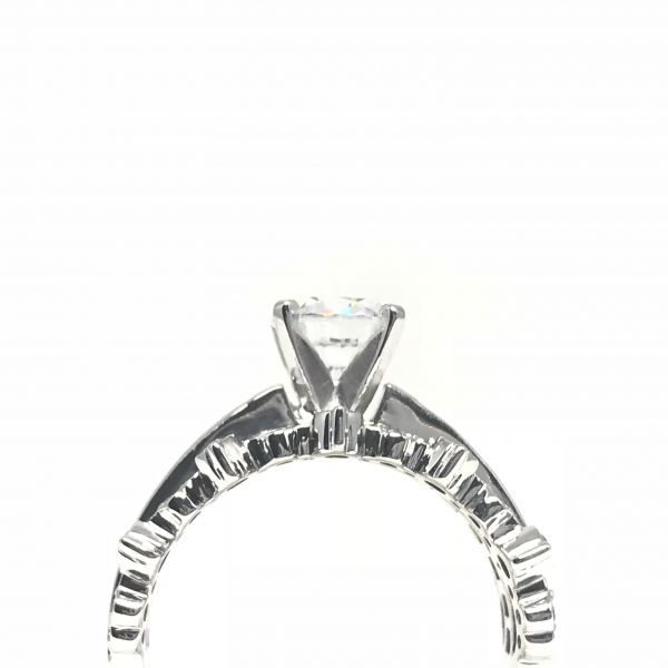 Engagement Rings - Crown Inspired Semi-Mount  - image 2