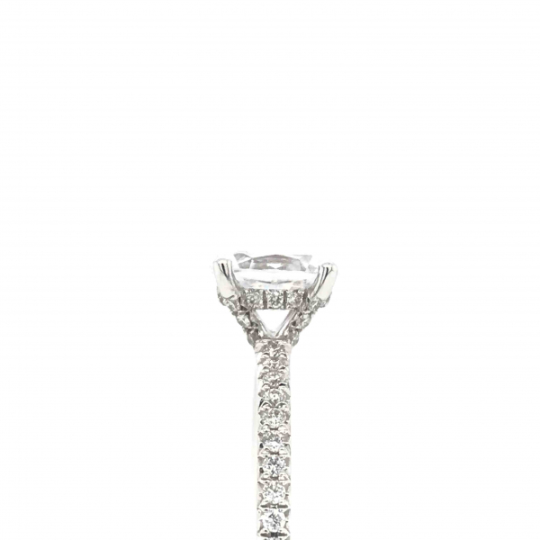 Engagement Rings - Oval Diamond Engagment Ring - image #3