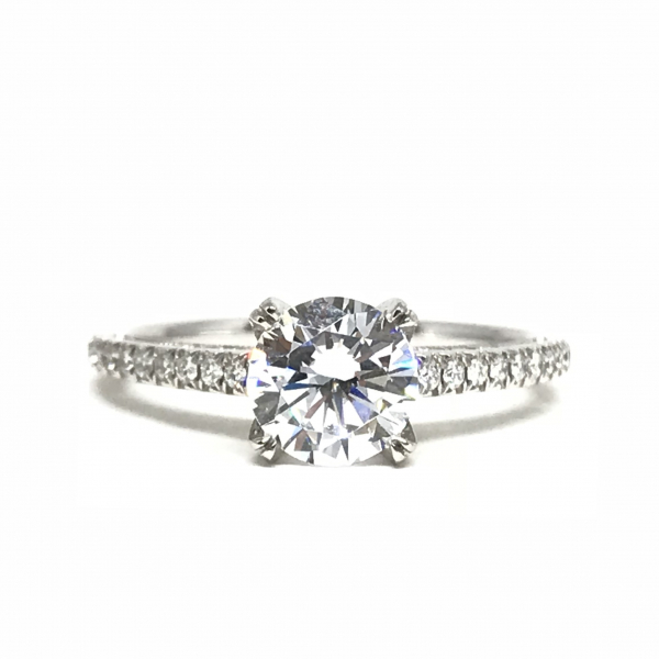 Engagement Rings - Round Engagement Ring