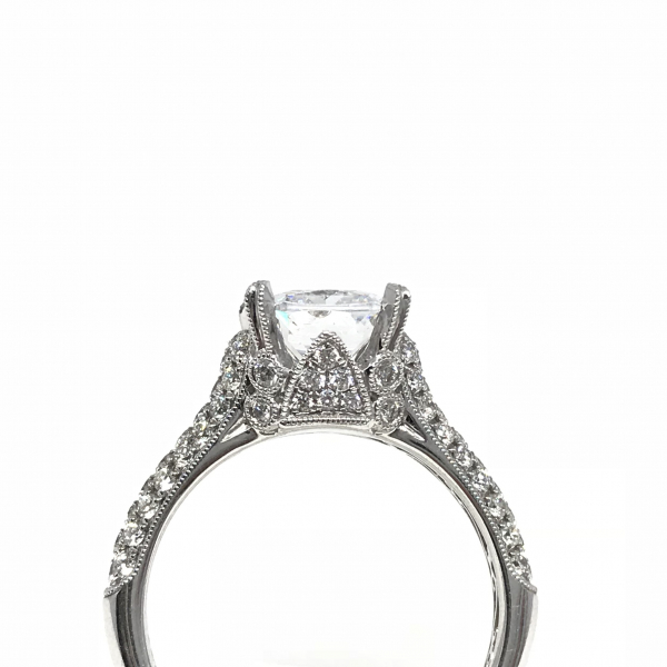 Engagement Rings - Solitare Semi-Mount  - image 2