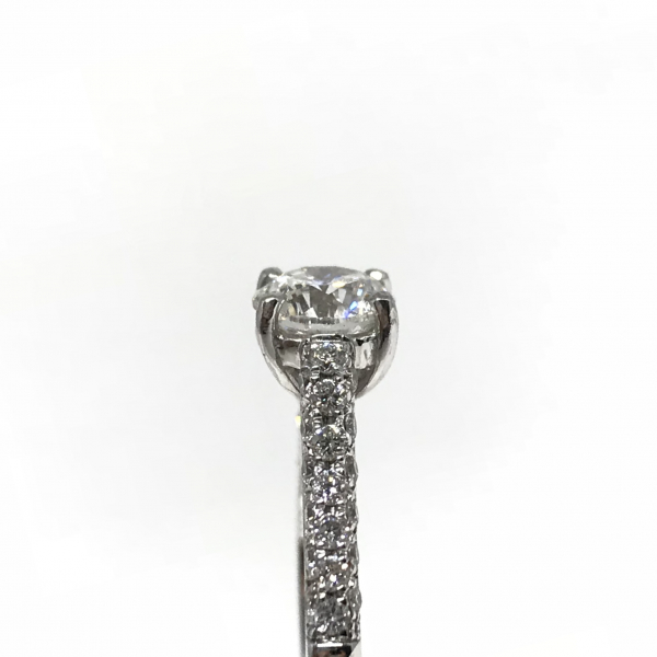 Engagement Rings - Round Diamond Ring - image #3