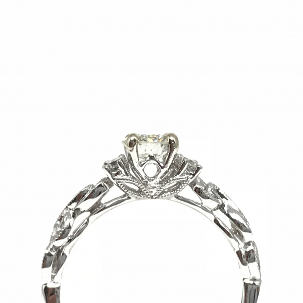 Engagement Rings - Round Diamond Engagement Ring  - image 2