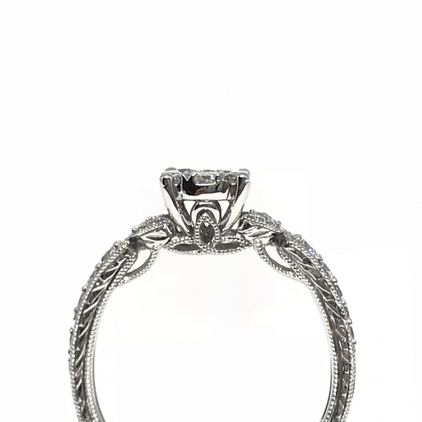 Engagement Rings - Lovebright Diamond Engagement Ring  - image #2