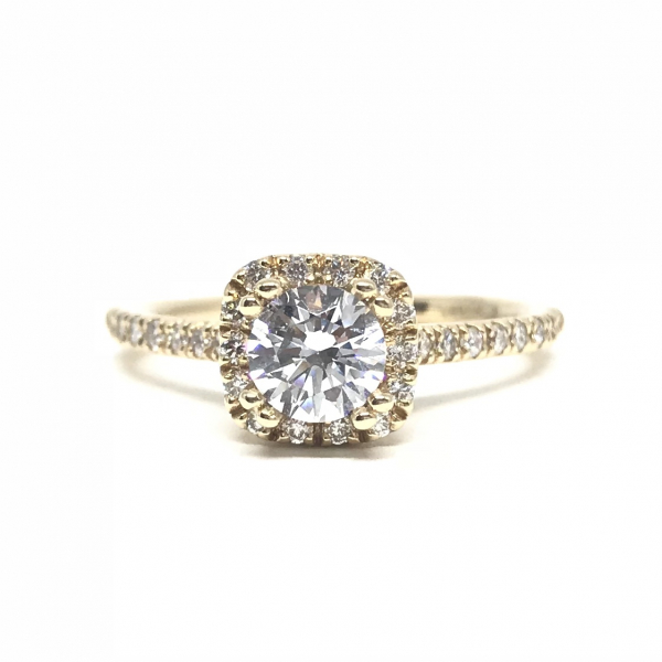 Engagement Rings - Cushion Semi-Mount