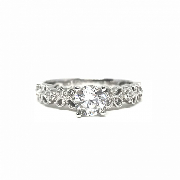Engagement Rings - Round Semi-Mount