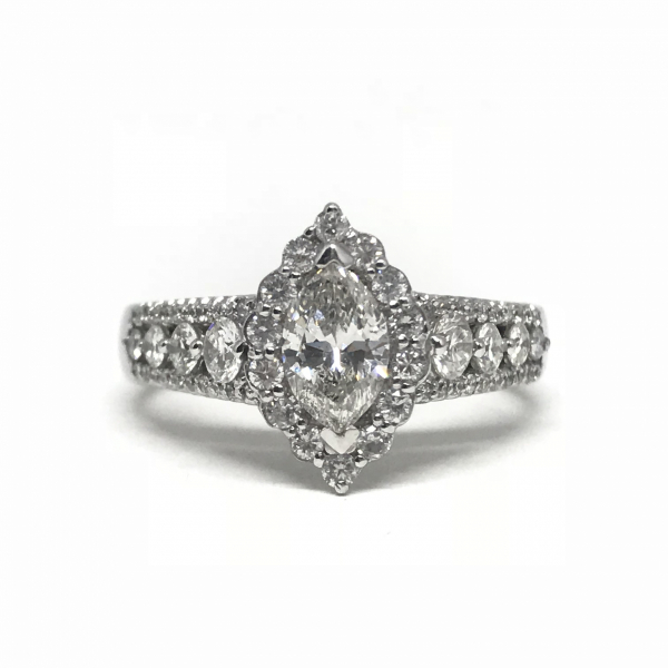 Engagement Rings - Marquise Diamond Ring