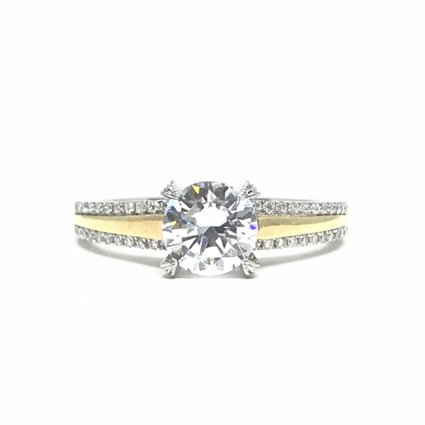 Engagement Rings - Semi Mount