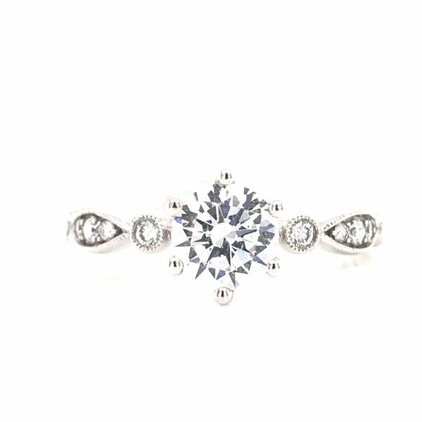 Engagement Rings - Vintage Stackable Engagement Ring