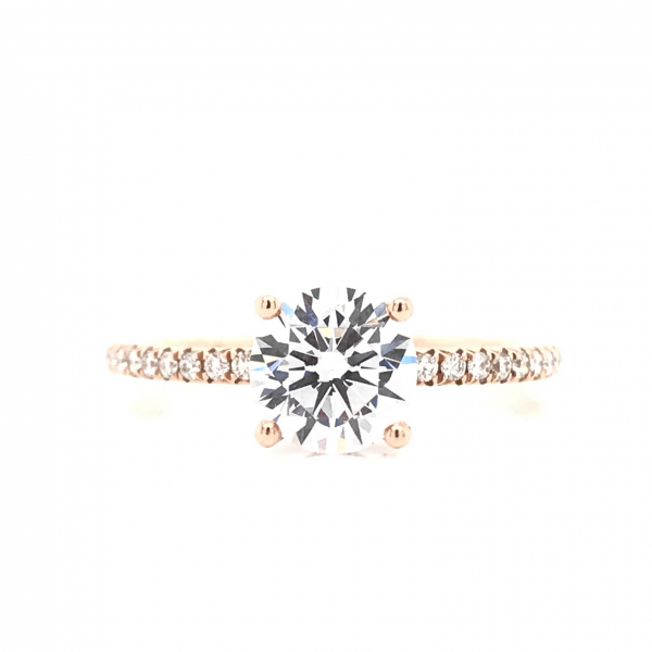 Engagement Rings - Solitare Diamond Semi-Mount