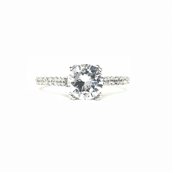 Engagement Rings - Diamond Semi-Mount Engagement Ring