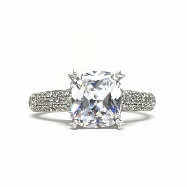Engagement Rings - Solitare Semi-Mount