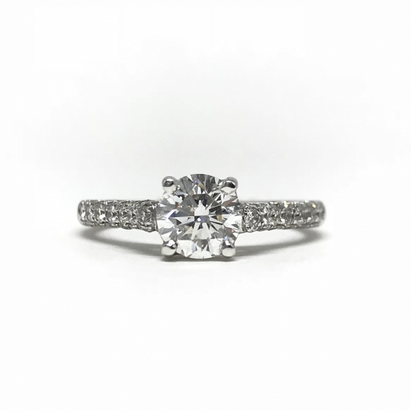 Engagement Rings - Round Diamond Ring