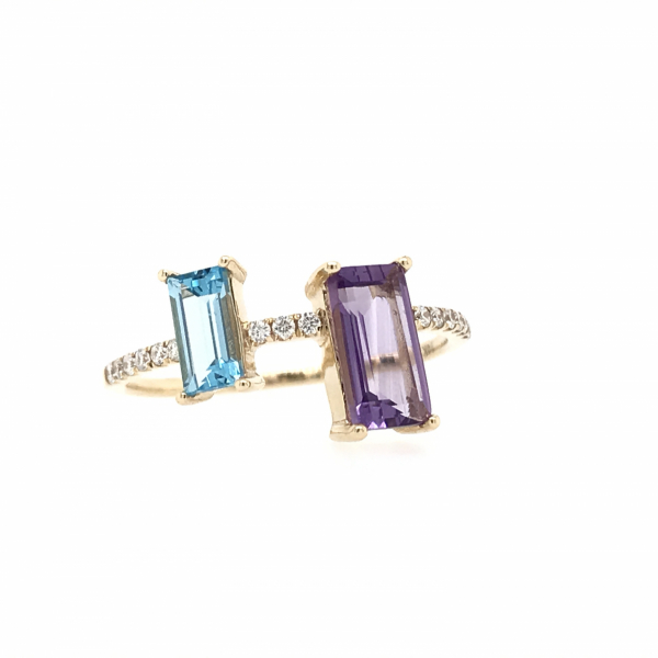 Fine Jewelry - Emerald Cut Gemstone Ring