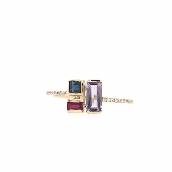 Fine Jewelry - Blocked Gemstone Ring