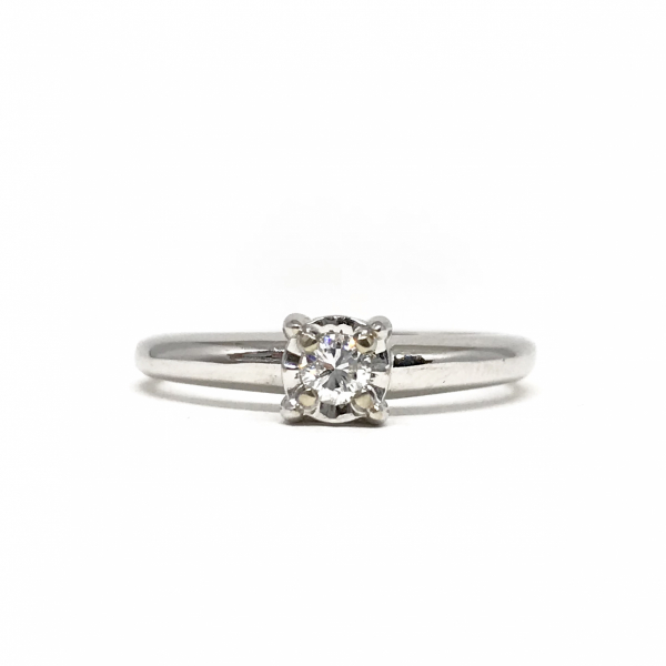 Engagement Rings - Solitare Diamond Ring