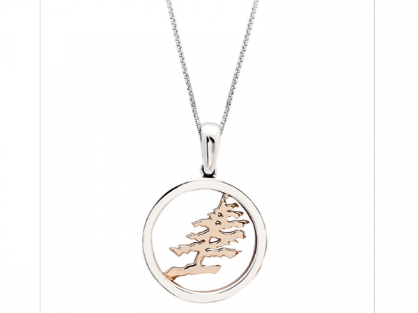BIRCHNOTES COTTAGE CASUAL - CIRCLE TREE PENDANT